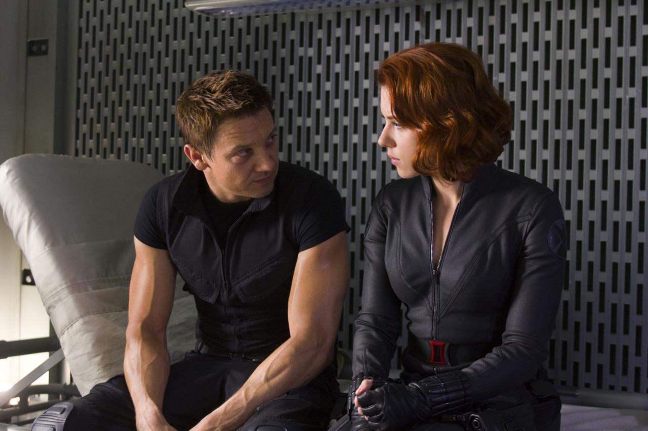13. Natasha and Clint's Mysterious Past