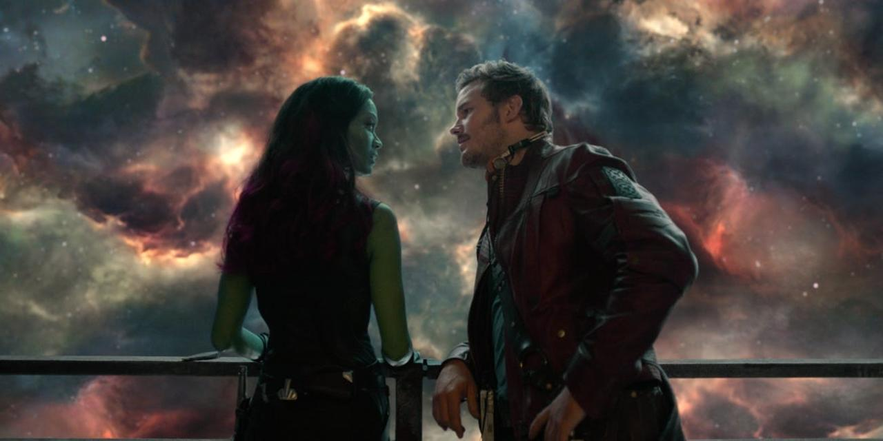 8. Star-Lord and Gamora's Final Moments