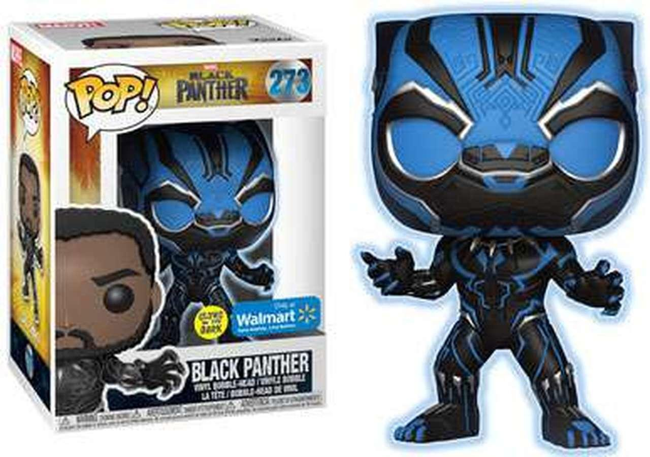 BEST: Glow in the Dark Black Panther (273)