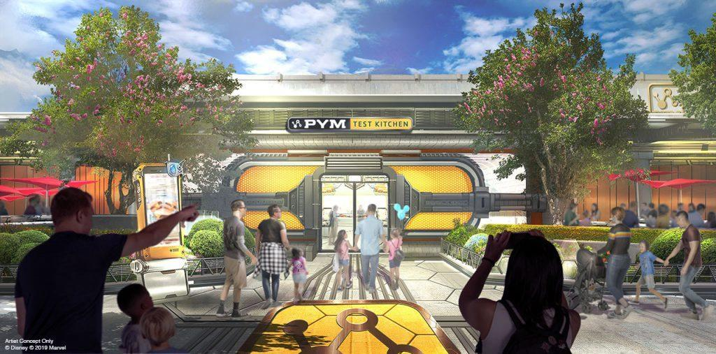 A Pym-themed eatery is on the way--complete with new character meet-and-greets