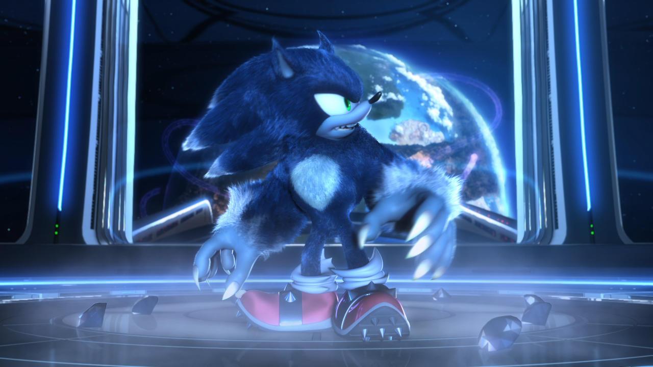1. Sonic the Werehog