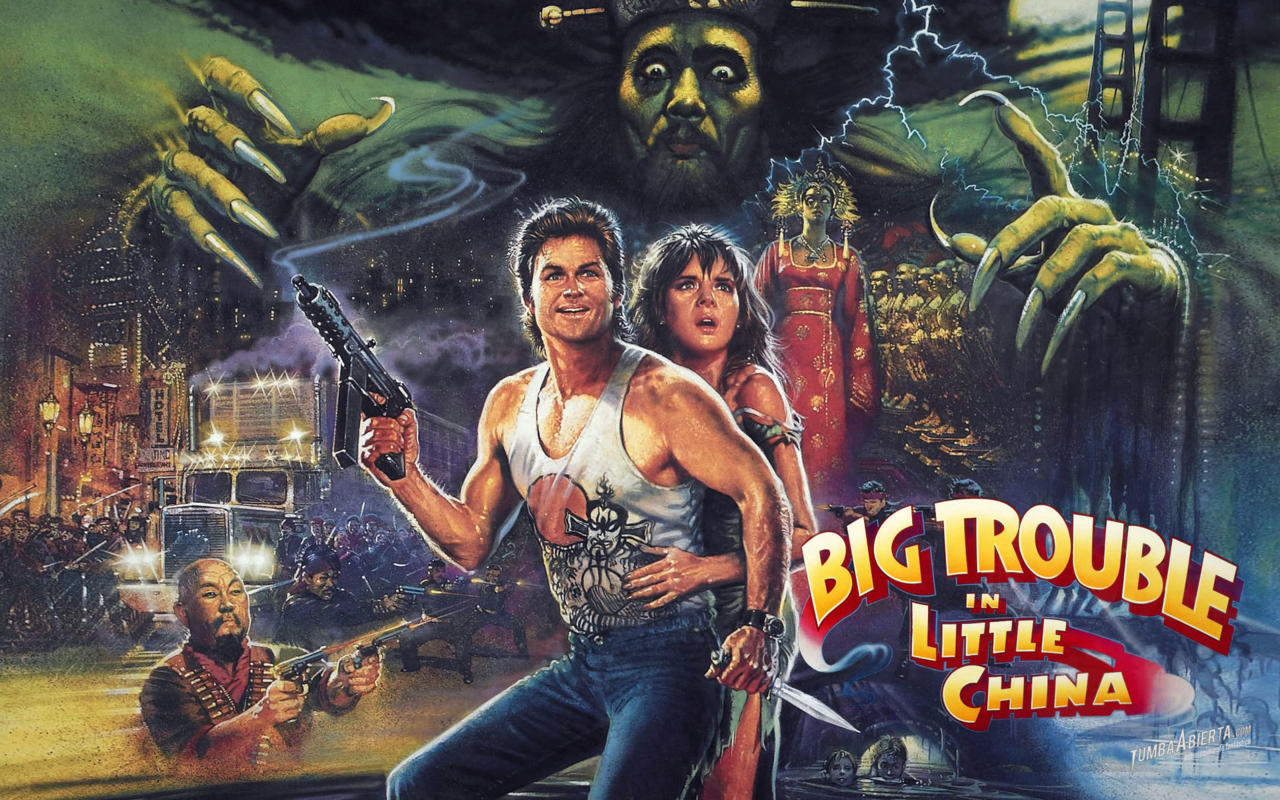 Big Trouble in Little China - Lan Pitts, Entertainment Writer