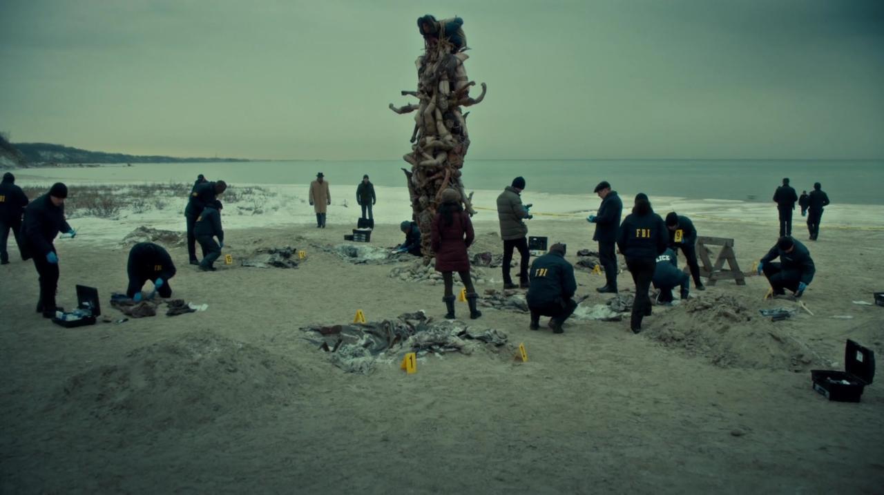 7. Human Totem Pole