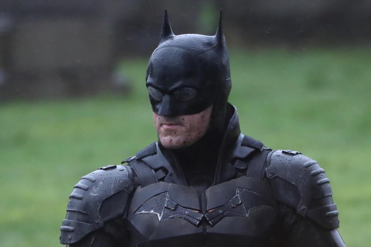 It features a new Bat Suit