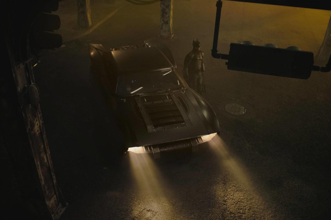 And a new Batmobile