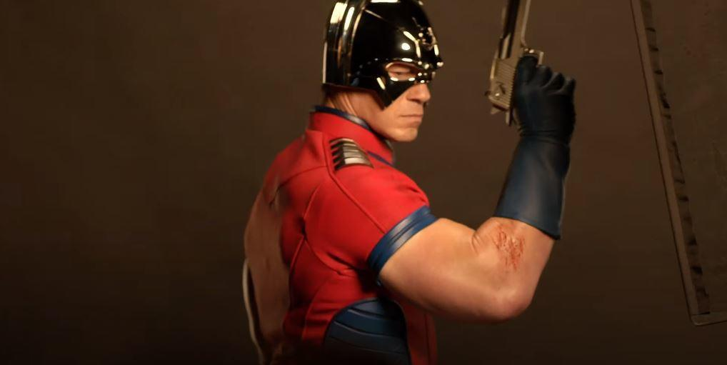 "4. John Cena's Peacemaker is a ""douchey Captain America"""