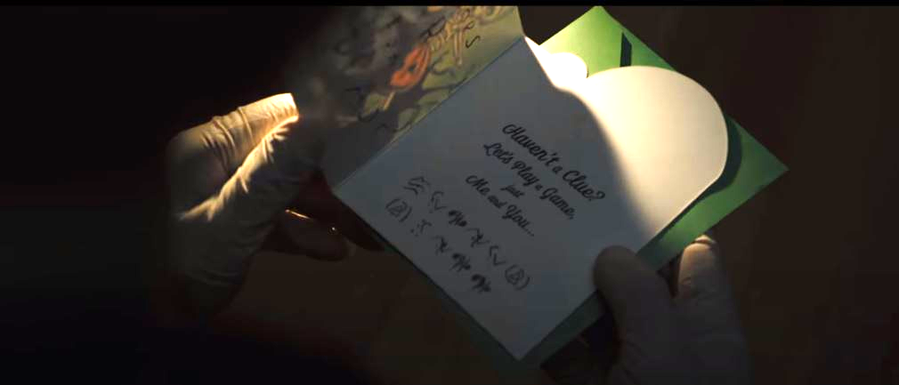 4. Clues in the card