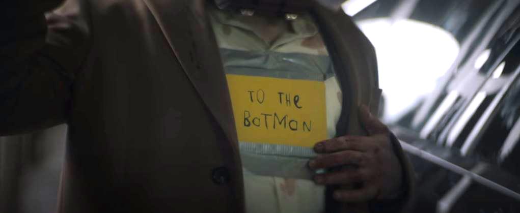 13. Message for Batman