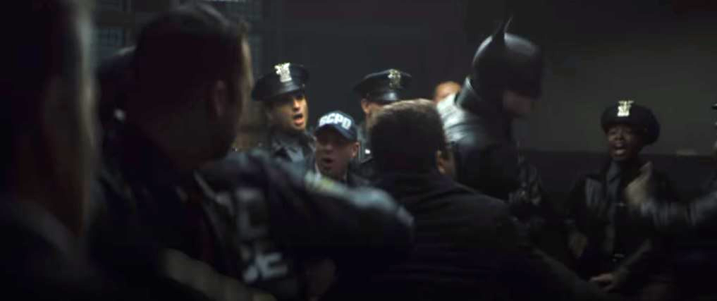 17. A fight in the GCPD
