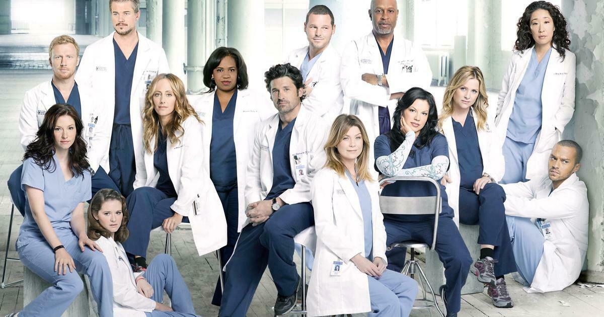 11. Grey's Anatomy