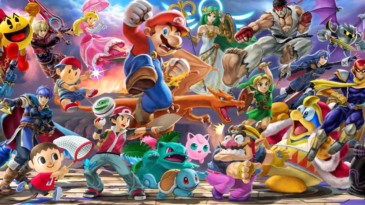 Smash Bros. Ultimate Has EVERYONE