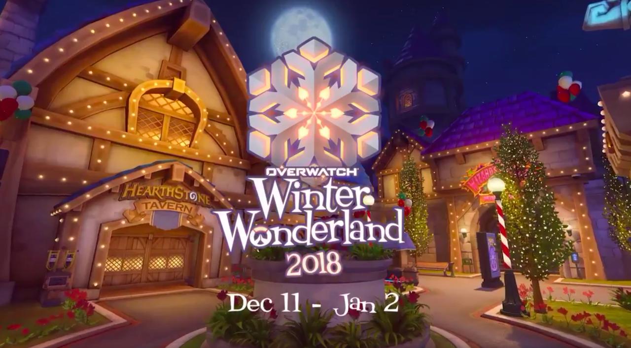 Overwatch Winter Wonderland 2018 Skins