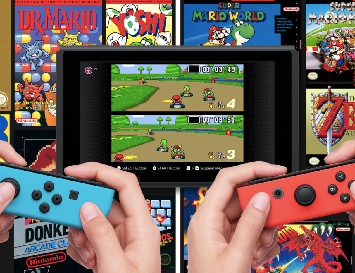Nintendo Switch Online - NES and SNES Libraries