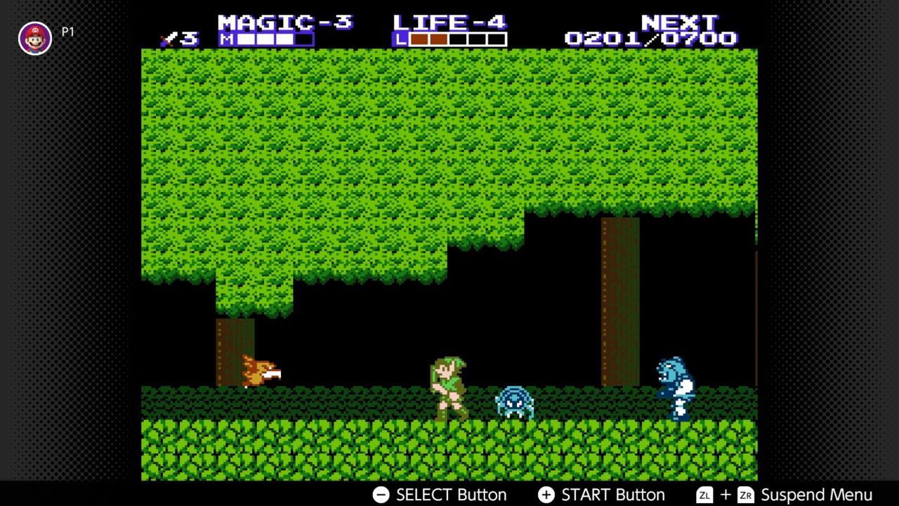 Zelda 2: The Adventure of Link (NES)