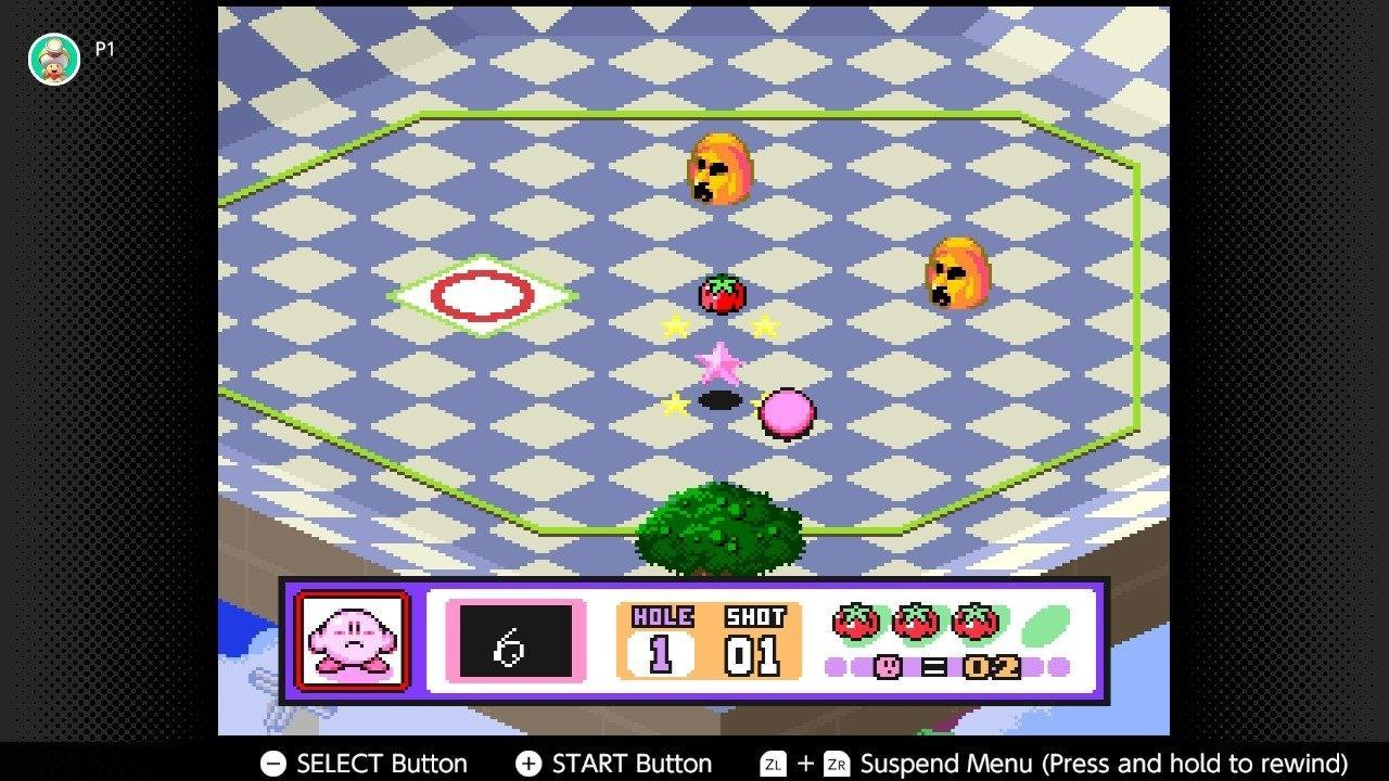 Kirby's Dream Course (SNES)