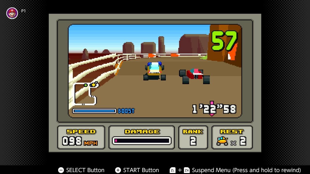 Stunt Race FX (SNES)