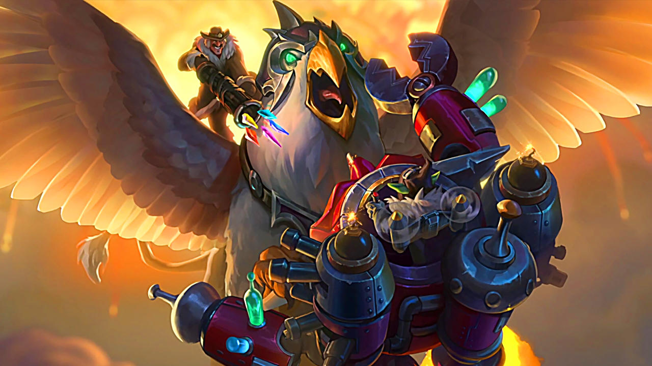 """Hearthstone """"Descent of Dragons"""" Cards"""