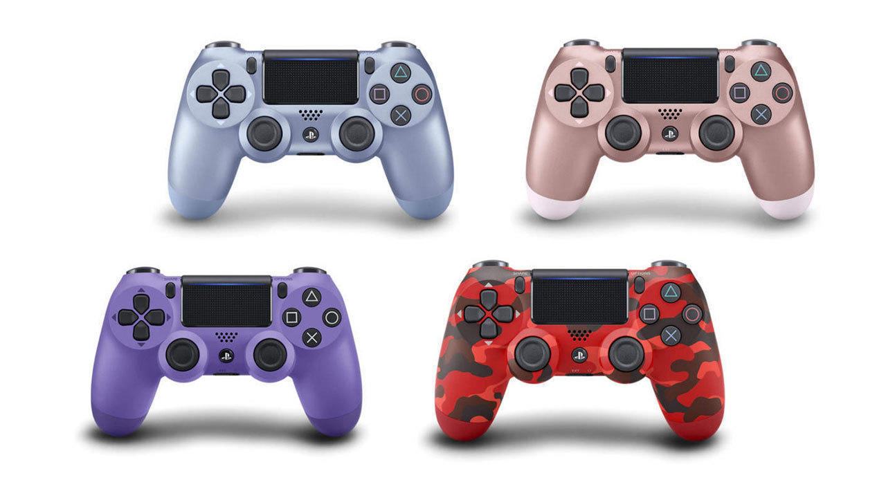 DualShock 4 Wireless Controllers (various colors) | $39 each