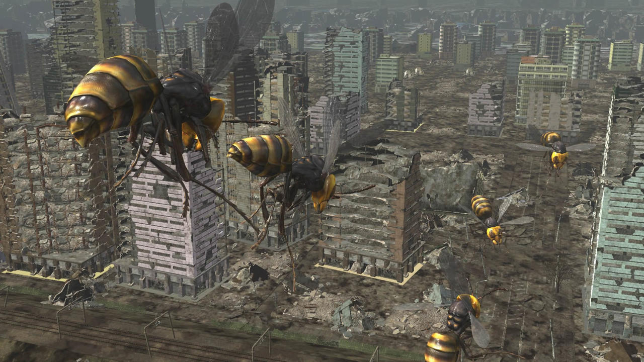 Pictured: The stuff of nightmares in Earth Defense Force 6