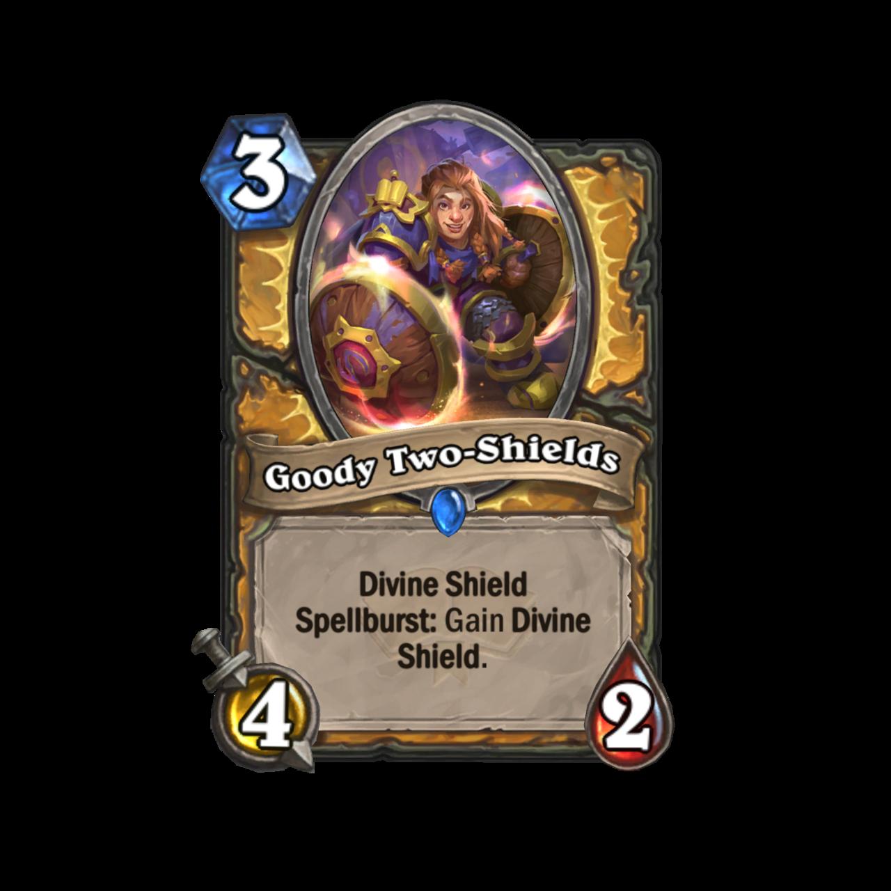 Goody Two-Shields shows Spellburst effect