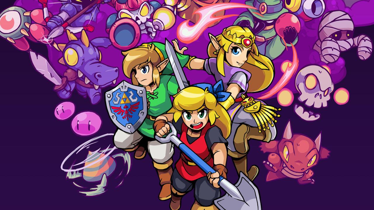 Rhythm of Hyrule: NecroDancer Crypt avec The Legend of Zelda