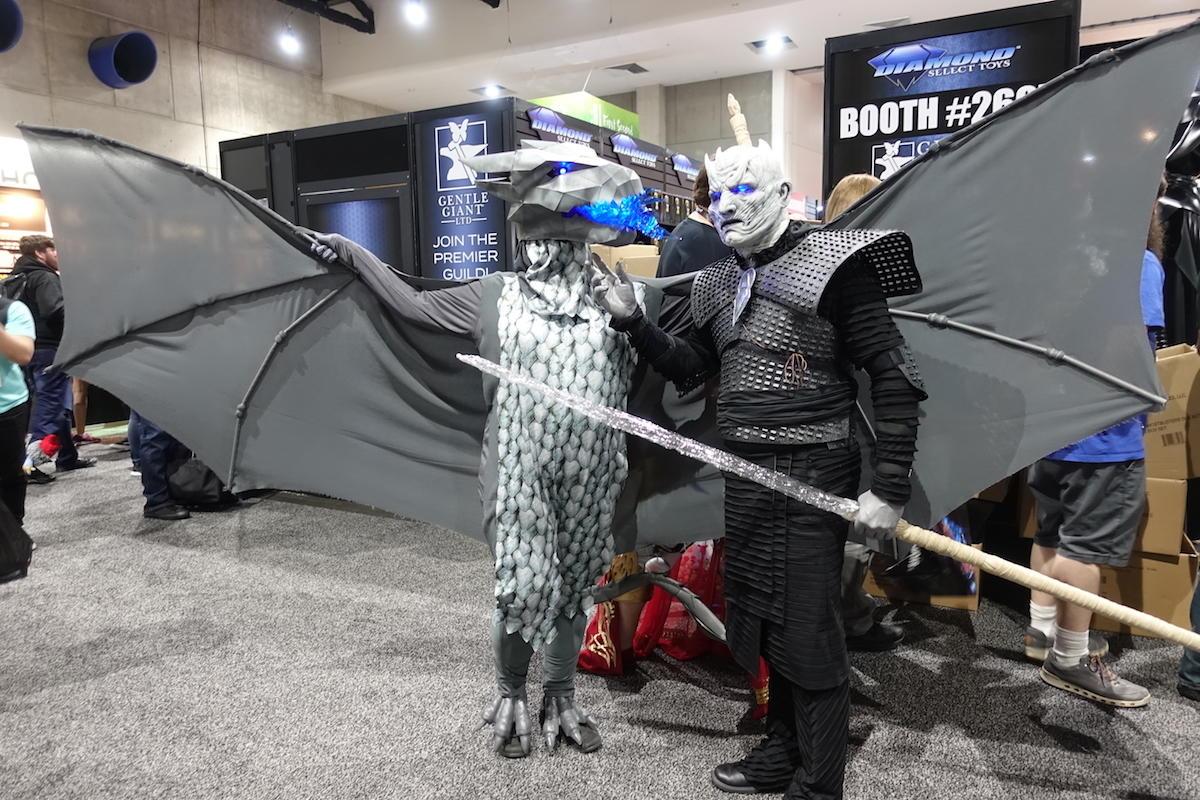 Night King And Dragon
