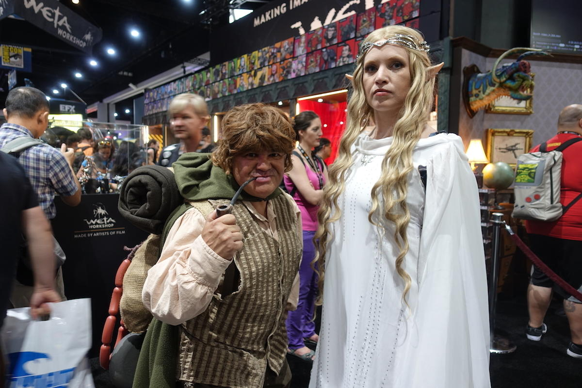 Samwise And Galadriel