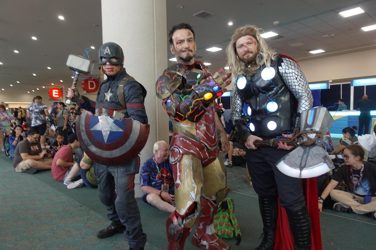 Captain America, Iron Man, And Thor
