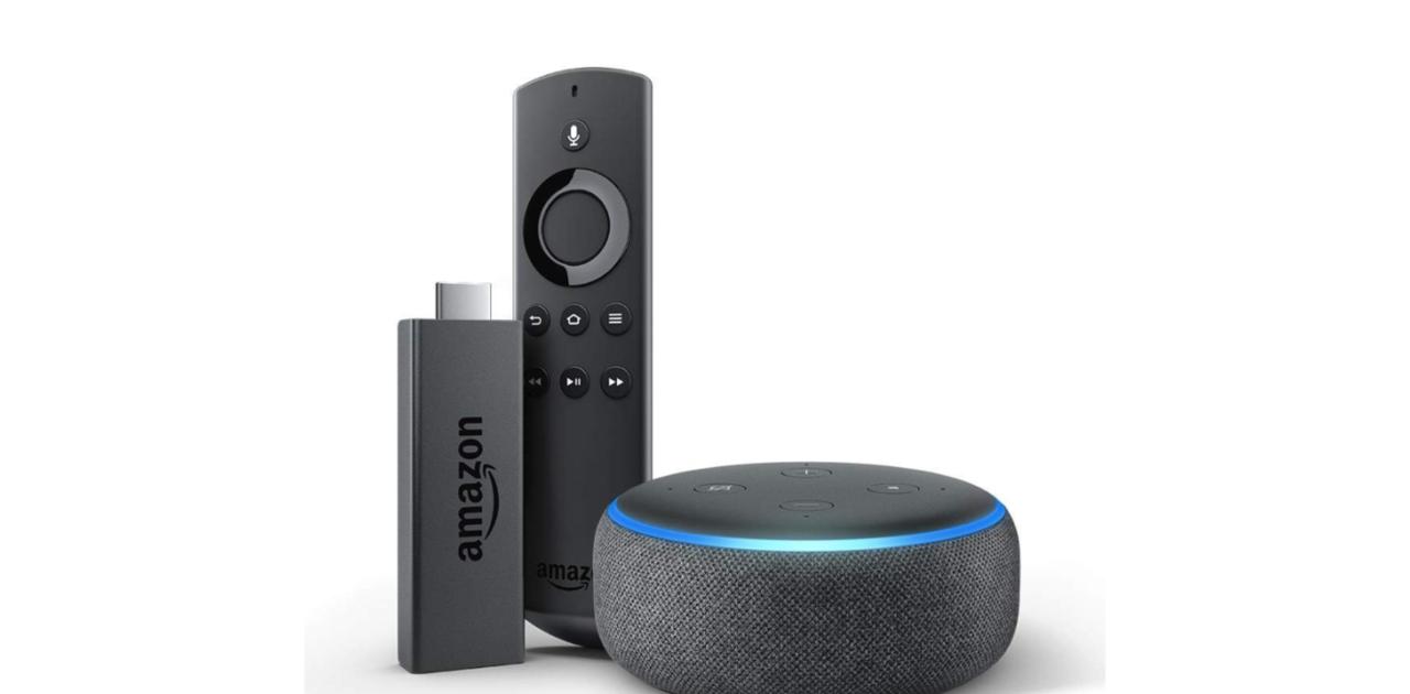 Fire TV Stick 4K And Echo Dot Bundle | $47