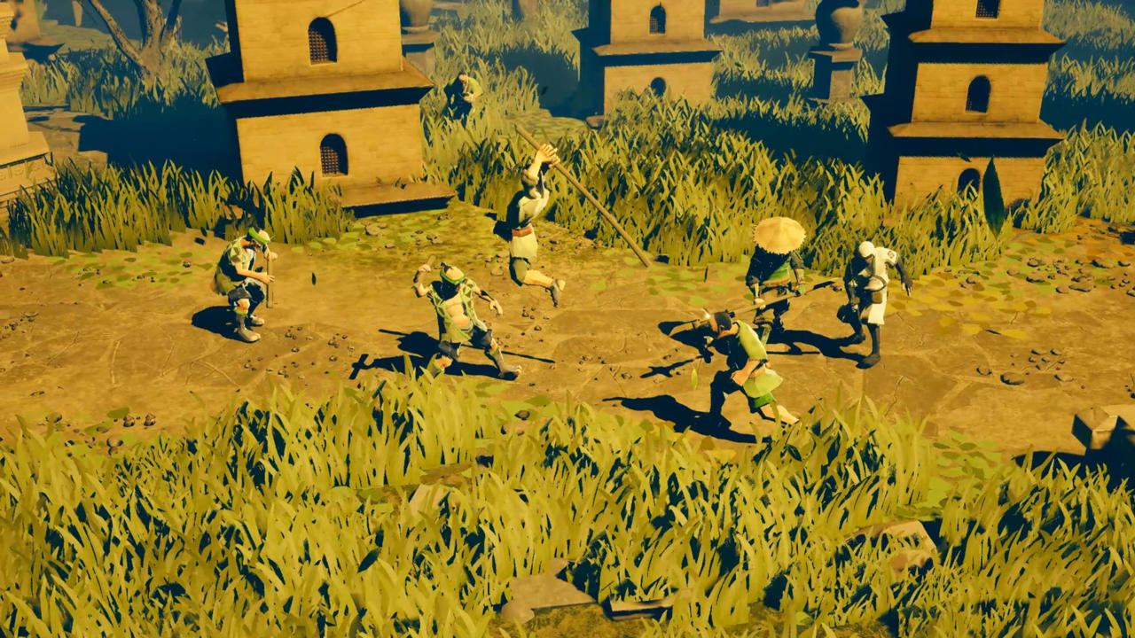 9 Monkeys Of Shaolin | Nintendo Switch, PC, PlayStation 4, Xbox One