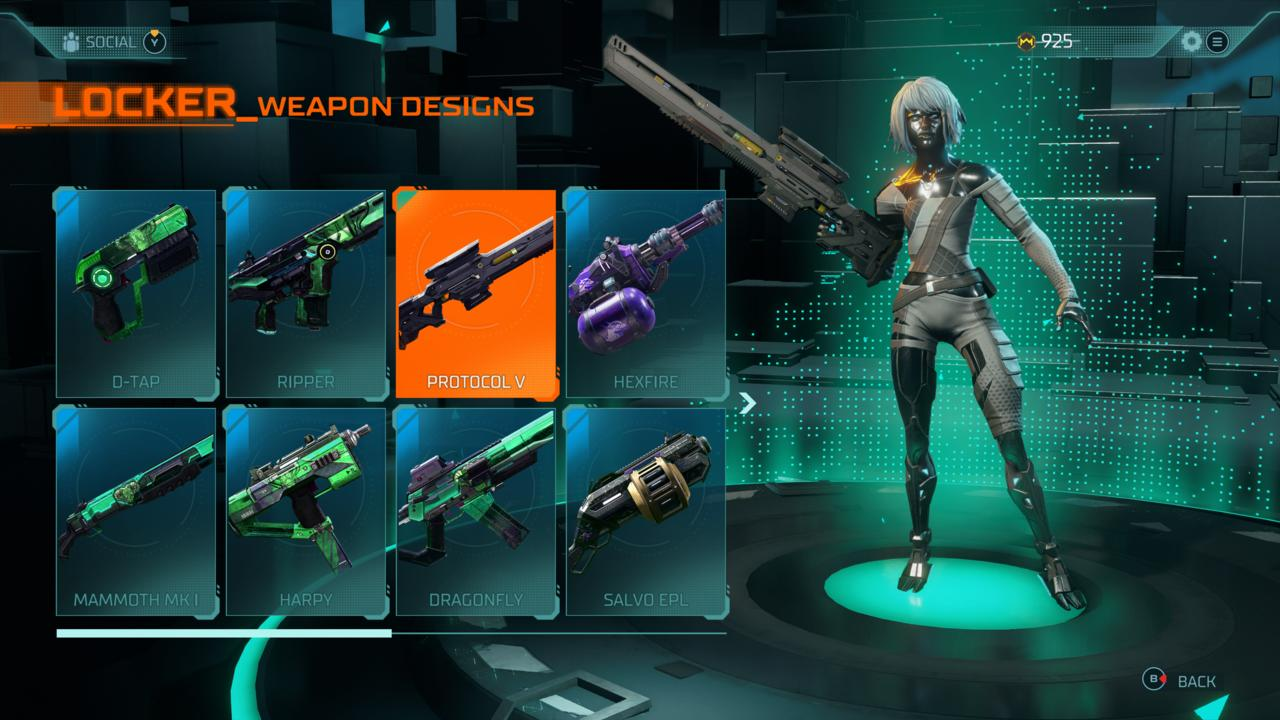I like running with the Ripper and Mammoth MK1, but I'll sometimes shuffle the Protocol V into my loadout.