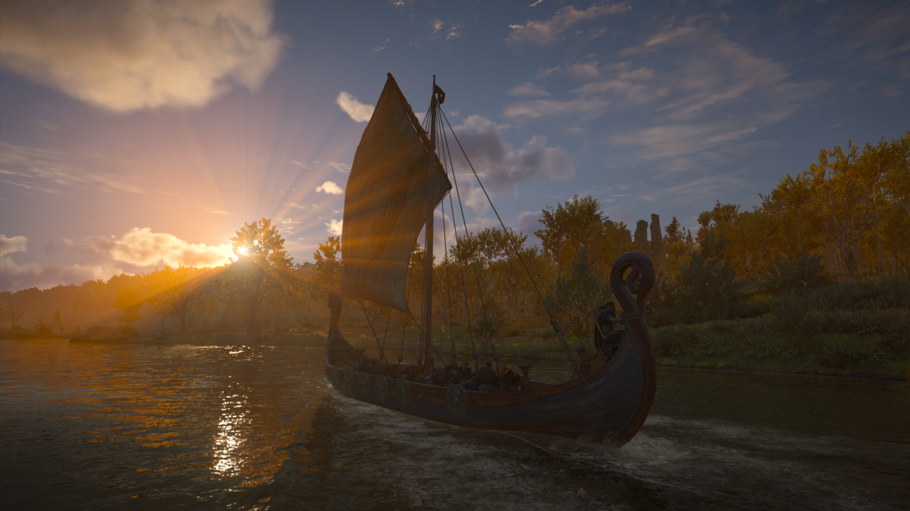 Eivor's longship is the fastest way to travel to new locations.