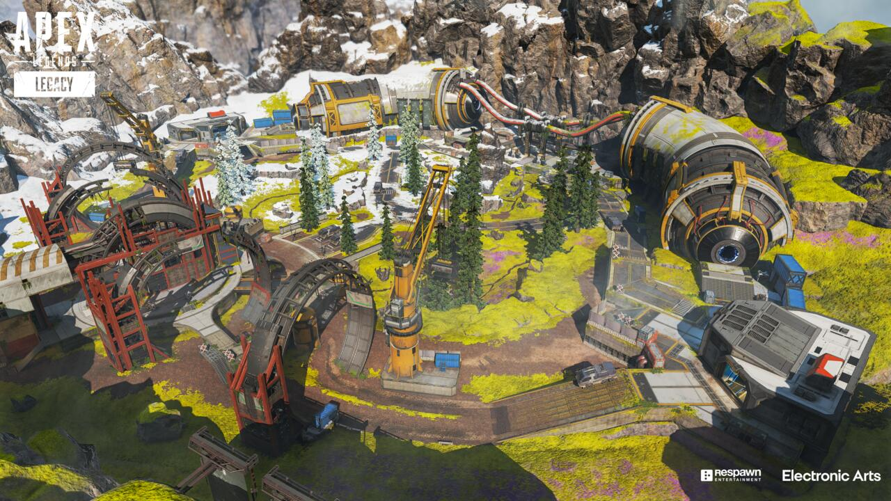 One of Arenas' new maps has a prototype phase runner, providing a means of flanking the other team or setting up a well-placed trap.