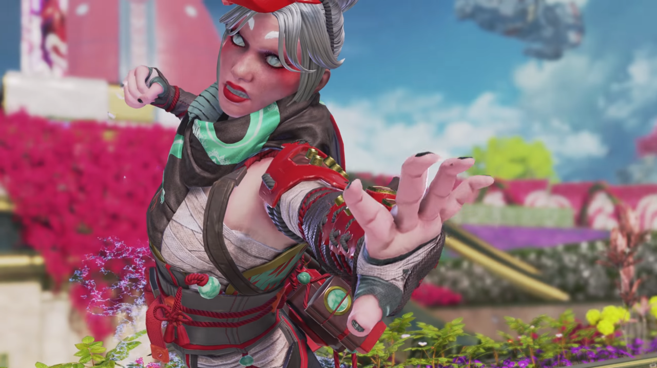 Apex Legends Legacy adds a new legendary skin for Wraith called Demon's Whisper.