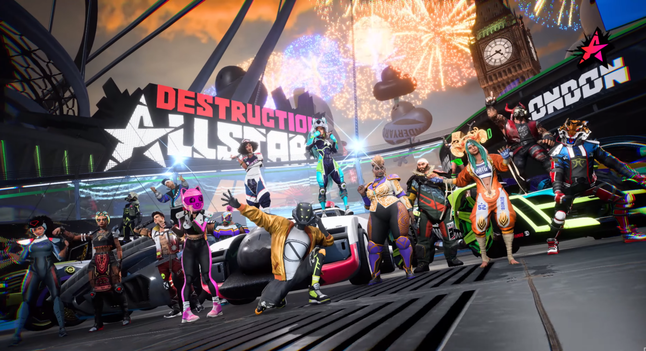 Destruction AllStars launched with 16 playable characters, each designed to support different playstyles.