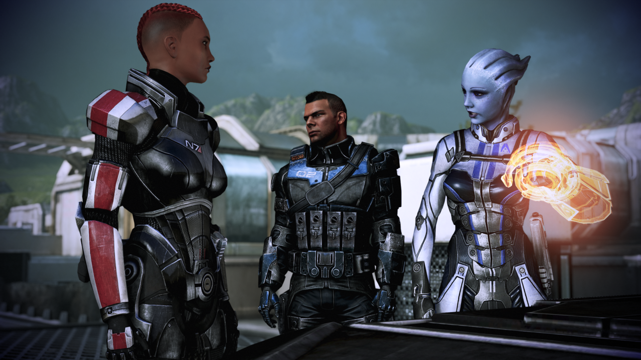 Legendary Edition's Mass Effect 3 looks so incredibly good.