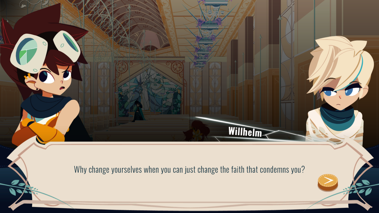 Willhelm is easily my favorite character in Cris Tales.