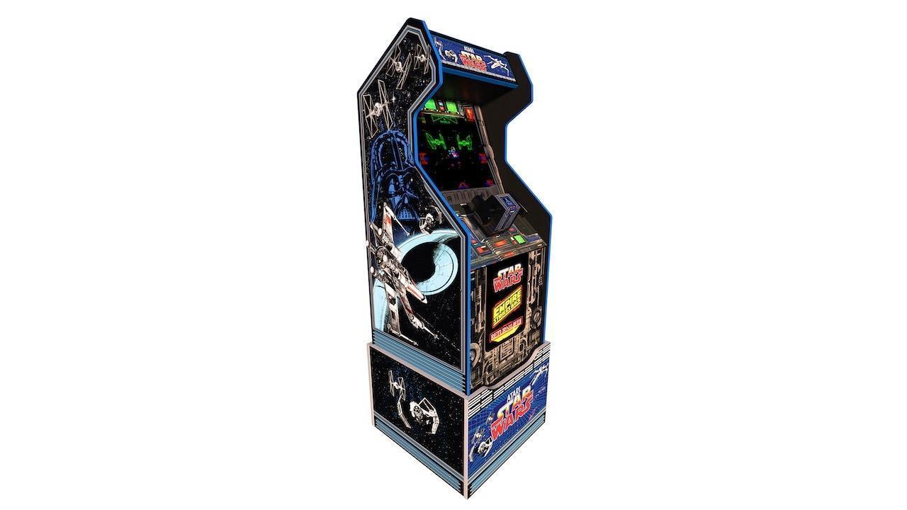 Arcade1Up Star Wars Arcade Machine with riser   $400