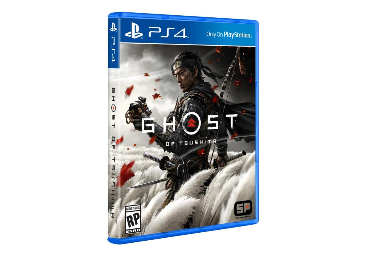 Ghost of Tsushima - Official cover art