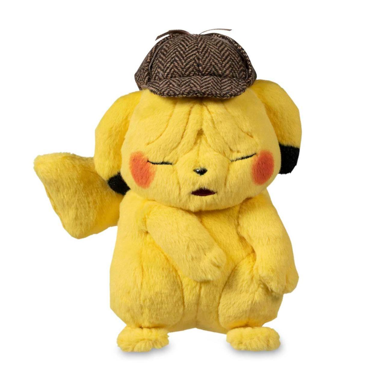 Pokemon: Detective Pikachu Wrinkled-Face Plush