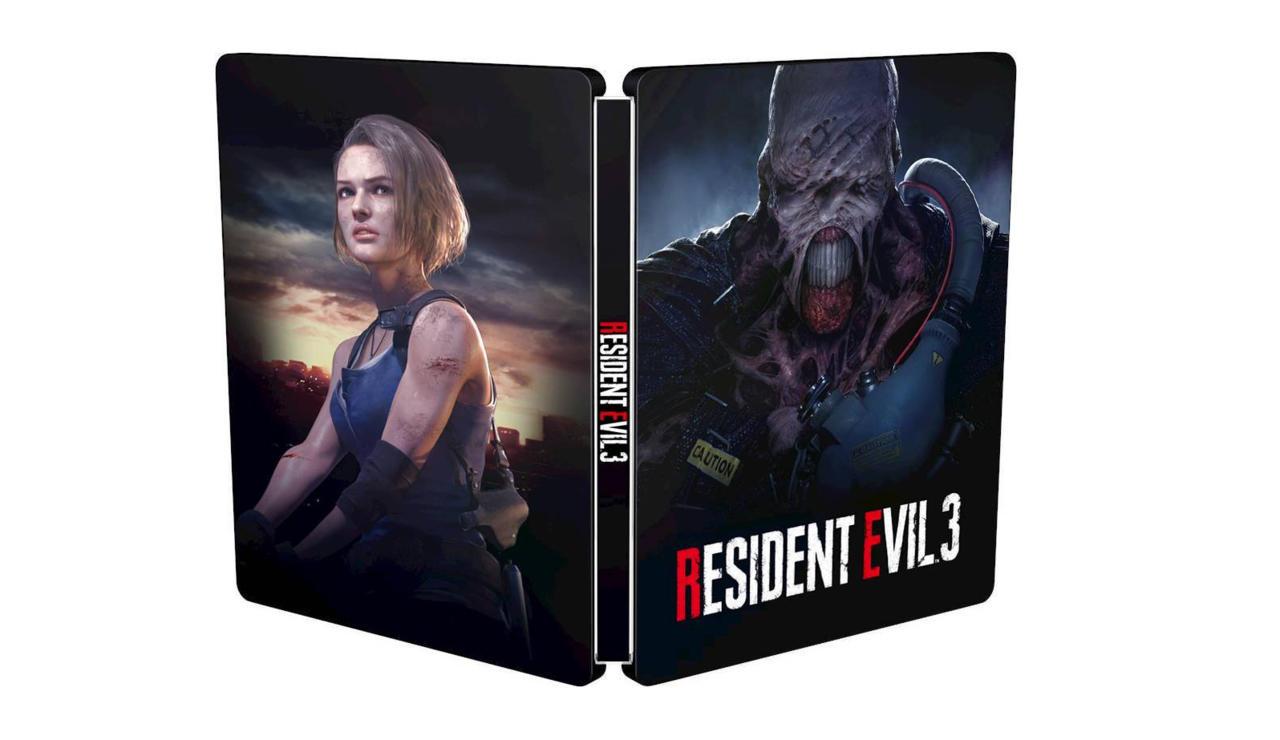 Resident Evil 3 steelbook - Best Buy exclusive