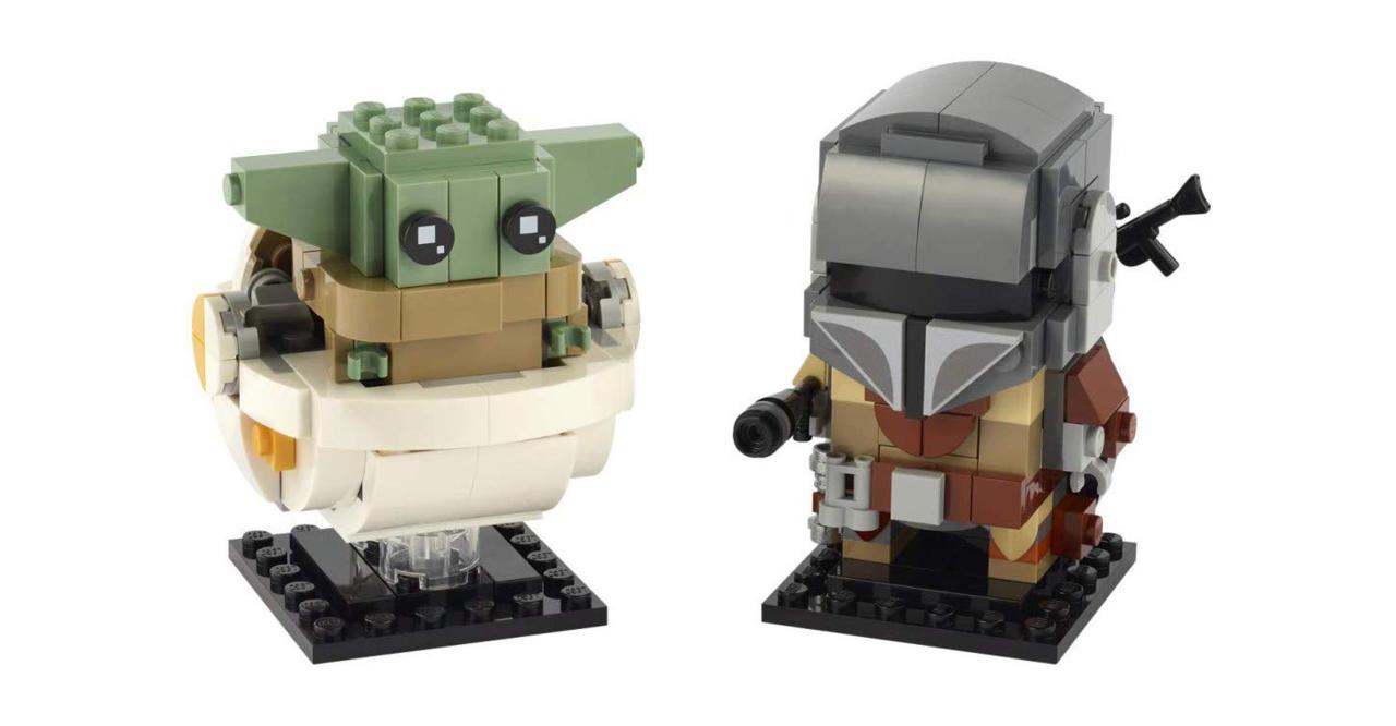 The Mandalorian Lego Brickheadz set