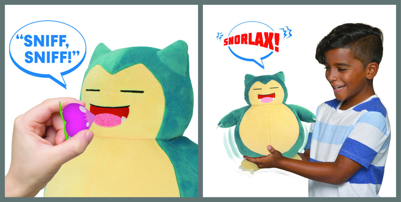 Snooze Action Snorlax is ready for a nap