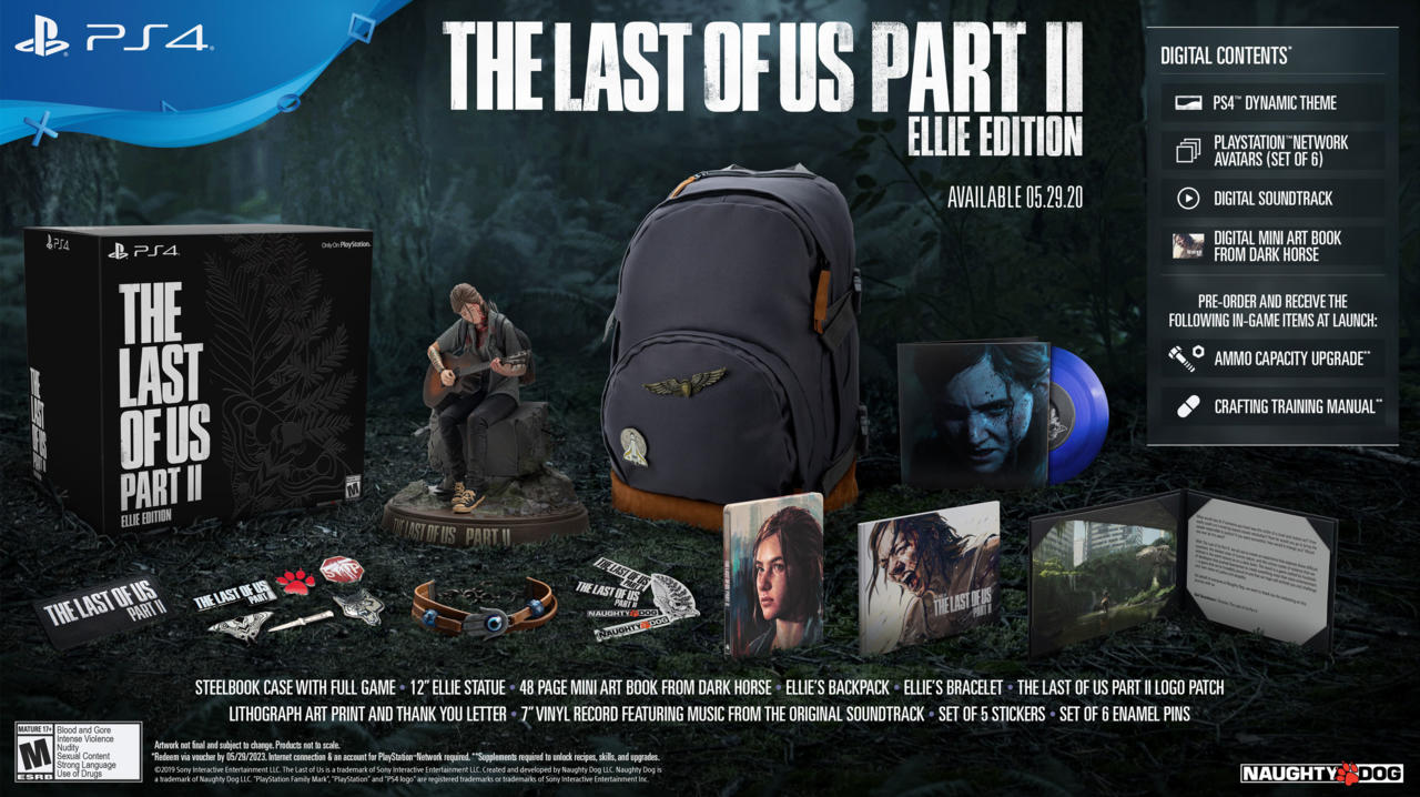 The Last of Us Part 2 - Ellie Edition | $230