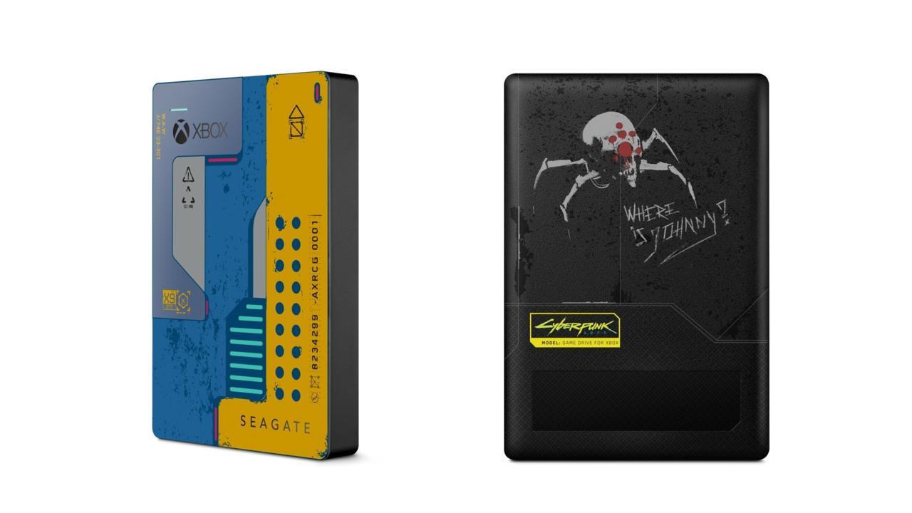 Cyberpunk 2077 Special Edition Seagate Game Drive