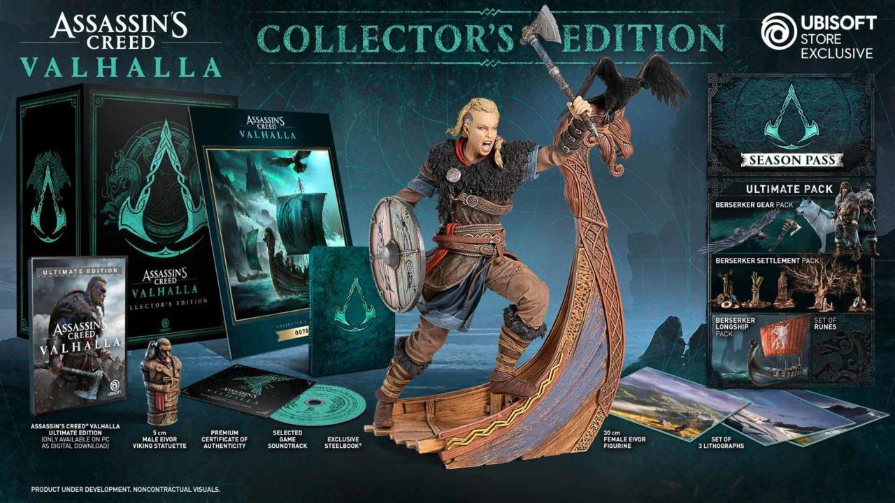 Assassin's Creed Valhalla Collector's Edition