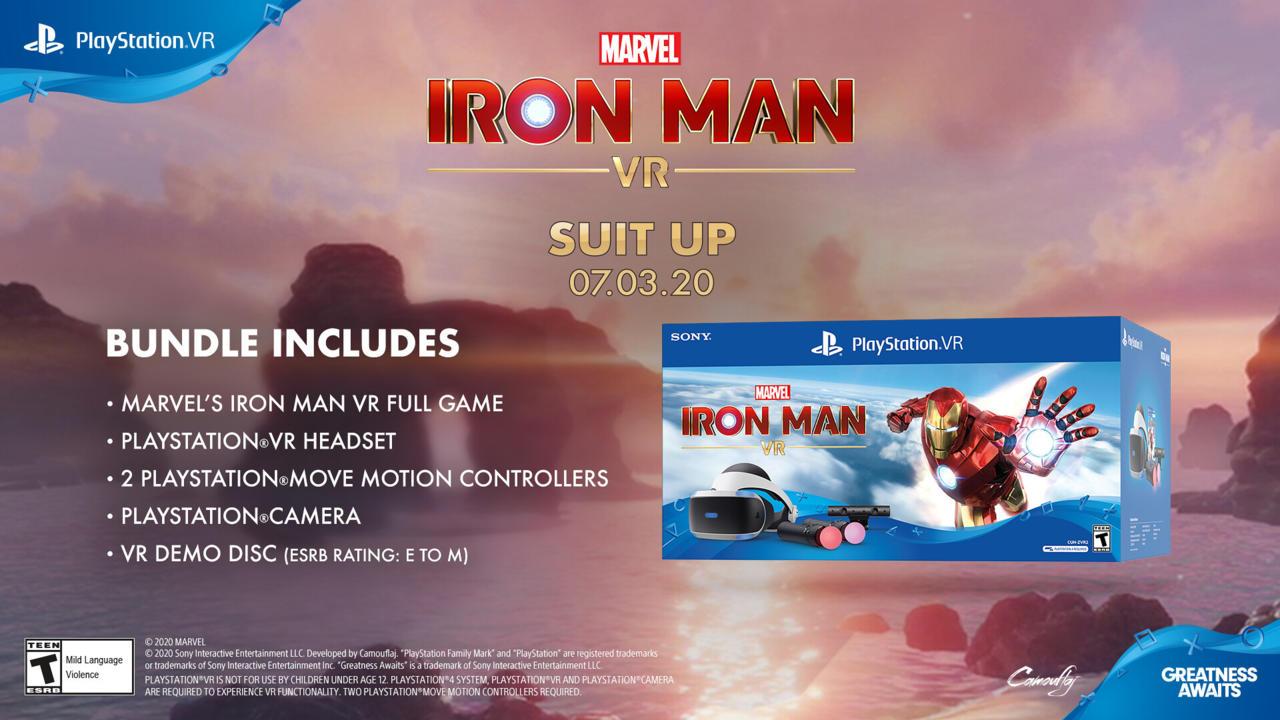 Iron Man VR - PlayStation VR bundle