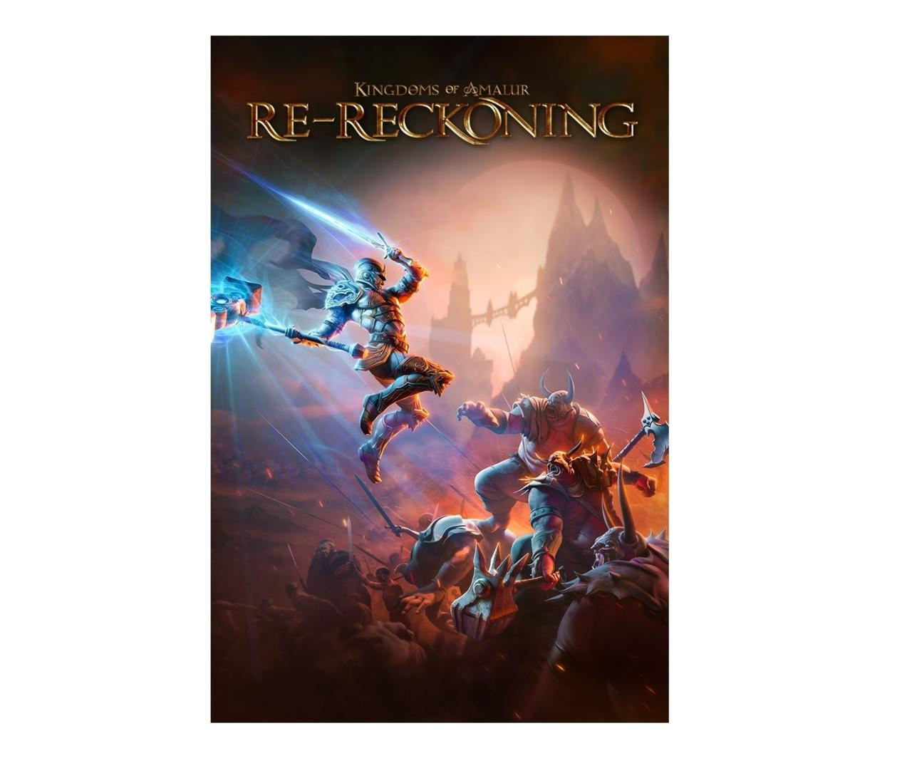 Official box art for Kingdoms of Amalur: Re-Reckoning