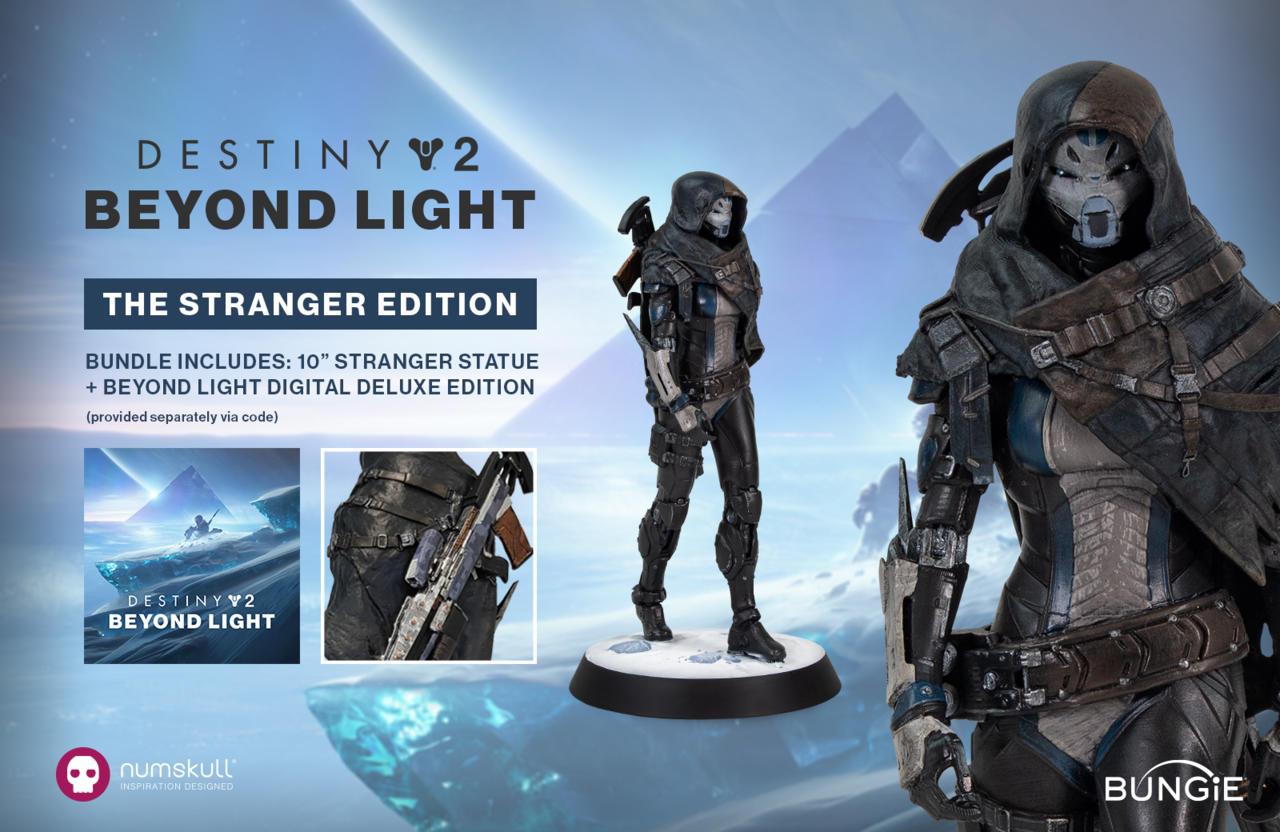 Destiny 2: Beyond Light Stranger edition comes with a figurine depicting the Stranger