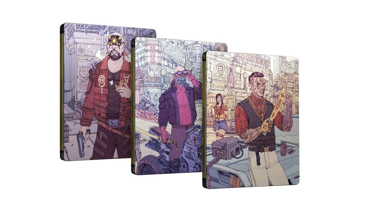 Cyberpunk 2077 steelbook case - Best Buy preorder bonus